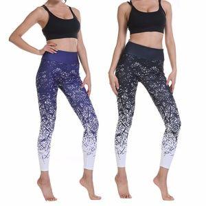 High Waist Elasticity Workout Printed Yoga Pants